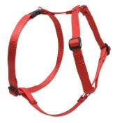 Lupine Roman Harness for Medium Dogs, 2.5cm / 50cm - 80cm , Red