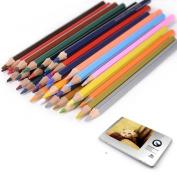 36pcs Water Colour Soluble Watercolour Sketching Pencils Coloured Art Drawing Pencils Set Metal Tin Case