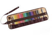 Home Office U.D. - 48 Piece Artist Grade High Quality Watercolour Water Soluble Coloured Pencil Set with Free Pencil Holder