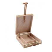 Wooden Artist Desk Easel Art Drawing Painting Durable Adjust Table Sketch Box Desktop