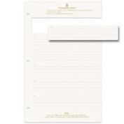 Memo note inserts for our SLIM LINEGallery Leather® album -