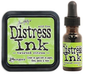 Tim Holtz Ranger Distress 2015 Colour of the Month Ink Pad and Reinker Bundle - 2 Items