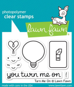 Lawn Fawn Clear Stamp - Turn Me On