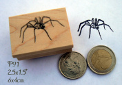 P91-Large spider rubber stamp
