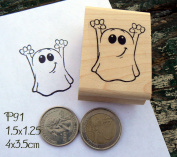P91 ghost rubber stamp