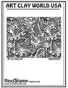 Flexistamps Texture Sheets Commas Inverse Design - 1 Pc.