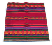 Alpakaandmore Original Peruvian Manta Fabric Different Sizes