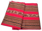 Alpakaandmore Original Peruvian Manta Fabric 250 X 130 Cm Pieces