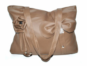 Charming Women Shoulder Bag Purse Top Zipper closure double handle Model08