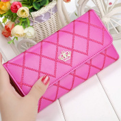 Chunshop Fashion Women Long Purse Clutch Crown Wallet Card Holder