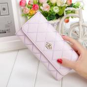 Chunshop Fashion Women Long Purse Clutch Crown Wallet Card Holder