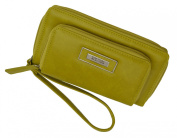 Kenneth Cole Reaction Women's Double Zipper Clutch wallet with cellphone holder