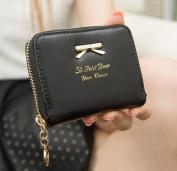 FakeFace Womens Girls Cute Zip Around Wallet Small Purse Card Holders Mini Handbag