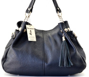 SAC DESTOCK - Women Leather Handbag - Carried HAND & SHOULDER - Grained leather - Ref