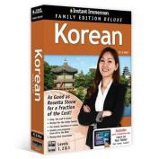 Instant Immersion Family Edition Deluxe Korean Levels 1,2 & 3 [KOR]