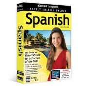 Instant Immersion Family Edition Deluxe Spanish Levels 1,2 & 3 [Spanish]