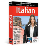 Instant Immersion Family Edition Deluxe Italian Levels 1,2 & 3 [ITA]