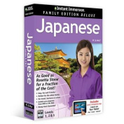 Instant Immersion Family Edition Deluxe Japanese Levels 1,2 & 3