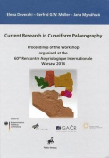 Current Research in Cuneiform Palaeography