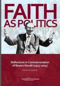 Faith as Politics