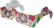 10 3D Paper Glasses, Happy Eyes, Happy Birthday