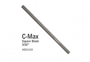 GRS® Tools 022-610 C-Max Carbide Graver 0.2cm Square Blank