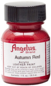 Springfield Leather Company's Autumn Red Acrylic Leather Paint