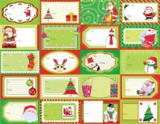 Christmas Gift Label Stickers To/From for Easy Name Labelling and Gift-Giving