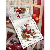 Santa and Sledge Table Runner Cross Stitch Kit