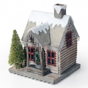 Sizzix Bigz Die - Tim Holtz - Village Winter - 14cm x 15cm