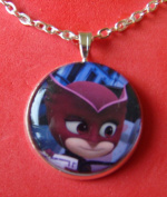 1 PJ Masks Bezel Pendant Necklace #1
