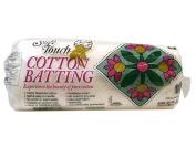 Fairfield Soft Touch Cotton Batting, 110cm by 150cm