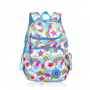 School Backpacks, OFEILY Child Carrier Backpacks book bags best student bag (6-12years old) Schulranzen Backpack Schoolbag Shoulders bag Lunch bag