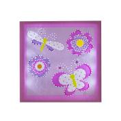. By Design Butterfly Light Up Wall Art