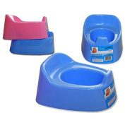 Portable Infant Baby Toilet Potty Training Chair Splashguard Lightweight Blue A5