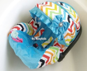 Infant Carseat Canopy Cover 3 Pc Whole Caboodle Baby Car Seat Cover Kit Cotton C030100