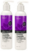 derma e Firming Cleanser with DMAE, Alpha Lipoic, C-Ester, 180ml Bottle