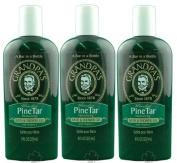 Grandpa Brands Company Pine Tar Bath & Shower Gel 240ml - 3 Pack