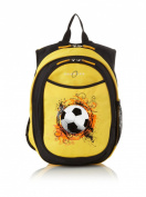 Obersee Kids All-in-One Pre-School Backpacks with Integrated Cooler, Soccer