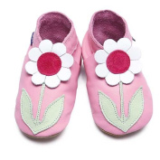 Inch Blue Baby Girls' Booties pink 17-18 cm