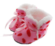 Healthy Clubs 0-6 Months Baby Girl Newborn Winter Warm Boots Toddler Infant Soft Sole Shoes