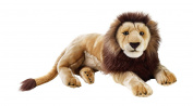 National Geographics Lion Stuffed Animals Hand Puppet