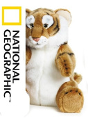 National Geographics Tiger Stuffed Animals Hand Puppet