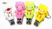 Meta-U Safety Bow Bear Baby Nail Clippers for Grooming