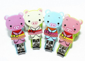 Meta-U Safety Pig Baby Nail Clippers for Grooming