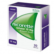 Nicorette Inhaler 15 mg Set of 20