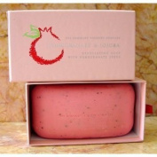 Pomegranate & Jojoba Exfoliating Soap with Pomgranate Seeds 300g by Asquith & Somerset England
