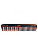Vega Handmade Graduated Dressing Comb. Half coarse and half fine toothed Small Comb.