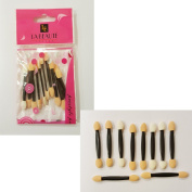 10 x Makeup Cosmetics Applicators Double Head Eyeshadow Concealer Foundation Wand