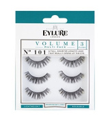 Eylure Strip Lashes No.101 (Volume) Multipack Pk Of 3 by Original Additions